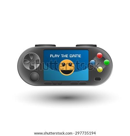 game pad gamepad icon logo illustration