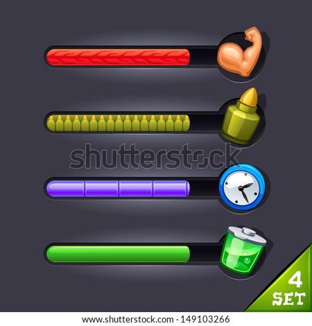 game resource bar-set 4