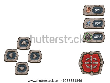 game shooter buttons