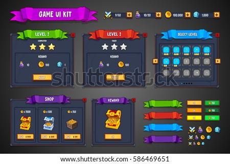 game ui kit fantasy