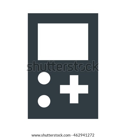 gameboy vector icon