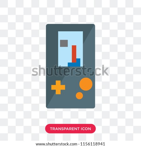 gameboy vector icon isolated on