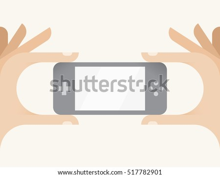 gamer hands holding handheld