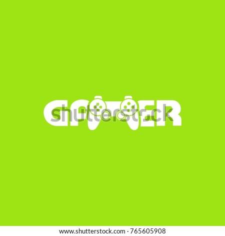 gamer logovector design