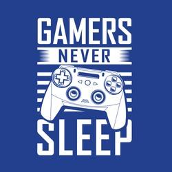 Gamers  illustration, tee shirt graphics, vectors, typography, hand drawn artwork