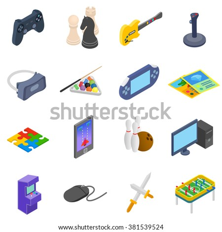 games icons set games icons