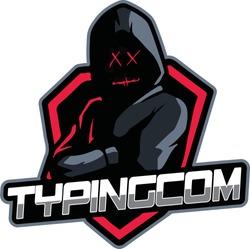 games logo black ninja in the dark