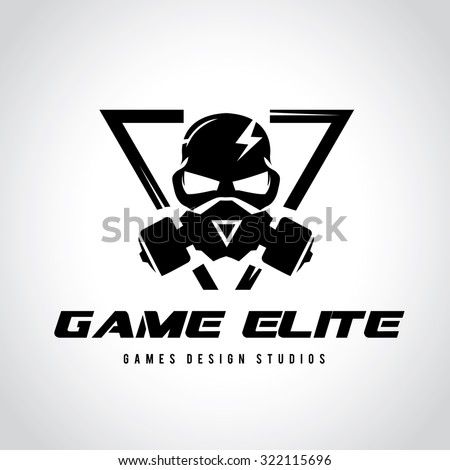 games logo vector logo template