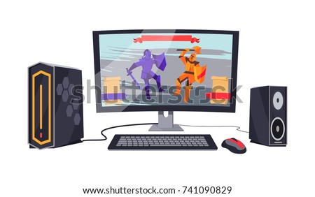 gaming personal computer with