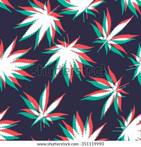 ganja weed marijuana seamless