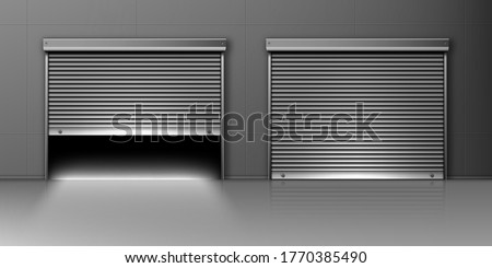 garage doors  hangar entrances