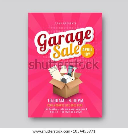 garage or yard sale event...