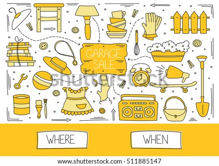 Yard Sale Signs - Download Free Vector Art, Stock Graphics & Images