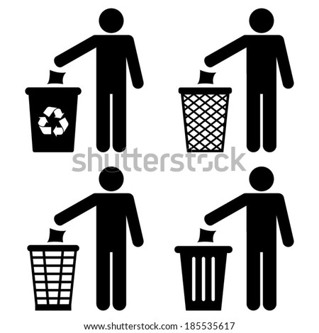 garbage recycling symbol