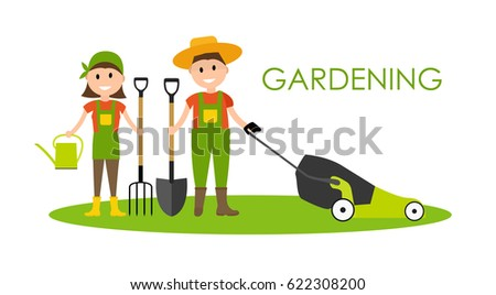 garden background vector
