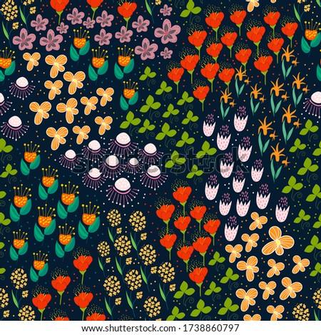 garden full of flowers and