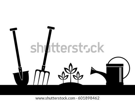 Garden vector icon