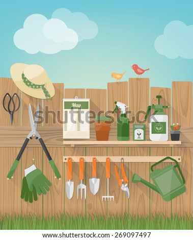 gardening and diy hobby garden