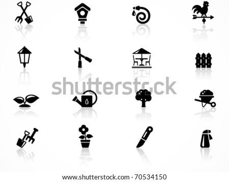 Gardening symbol - stock vector
