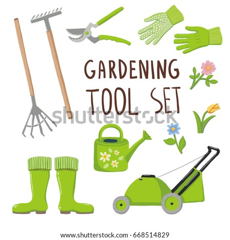 gardening tool set collection