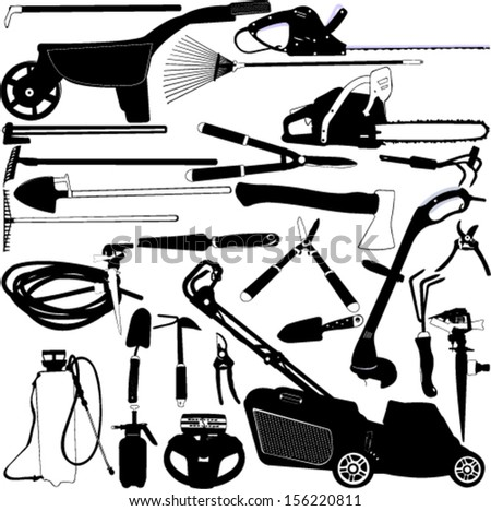 Tools Seamless Pattern