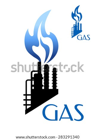 gas and oil industry icon