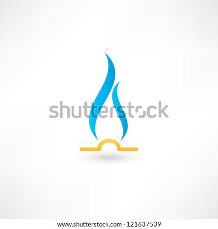 gas flame icon