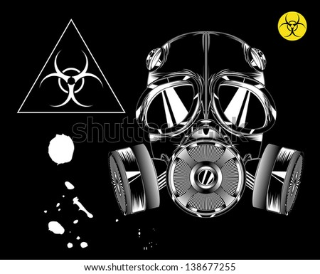 gas mask biohazard
