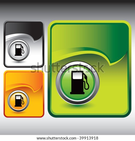 gas or fuel icon on multicolored rip curl backgrounds