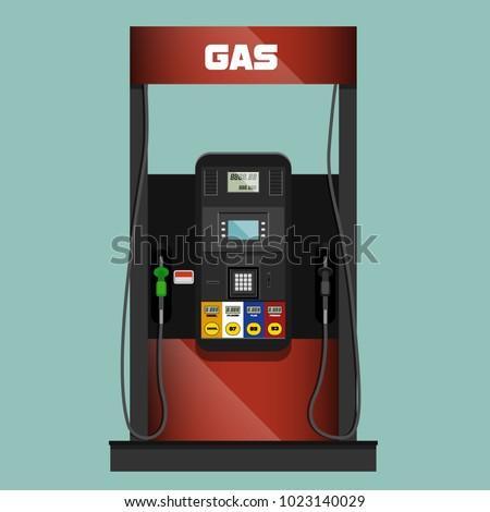 gas pump illustration