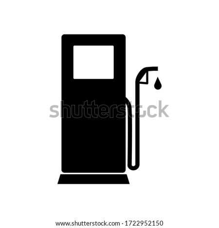 Gas station vector icon for eps 10 Сток-фото ©