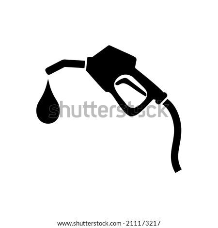 gasoline pump nozzle signgas