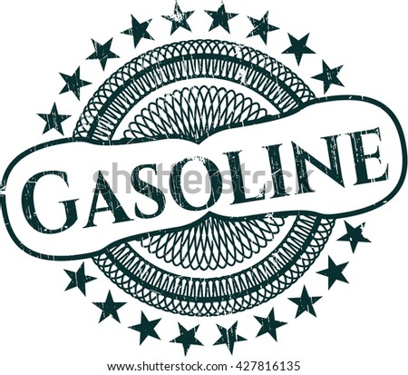Gasoline with rubber seal texture