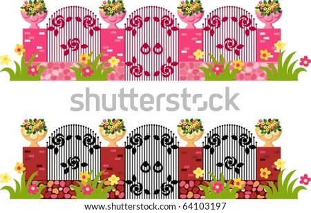 Gateway - stock vector