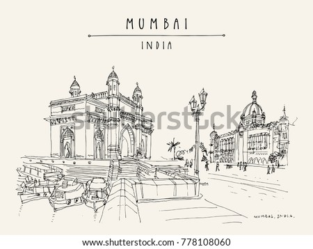 gateway of india and taj mahal...