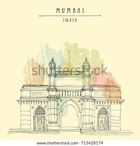 gateway of india in mumbai ...