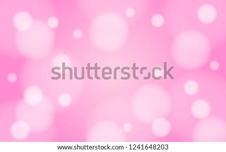 gaussian blur bokeh pink spring