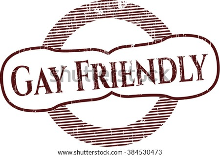 Gay Friendly rubber seal