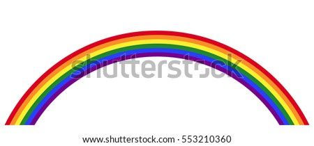 gay pride rainbow with the lgbt