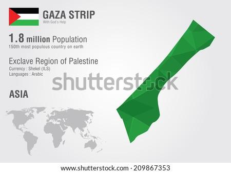 gaza strip geography