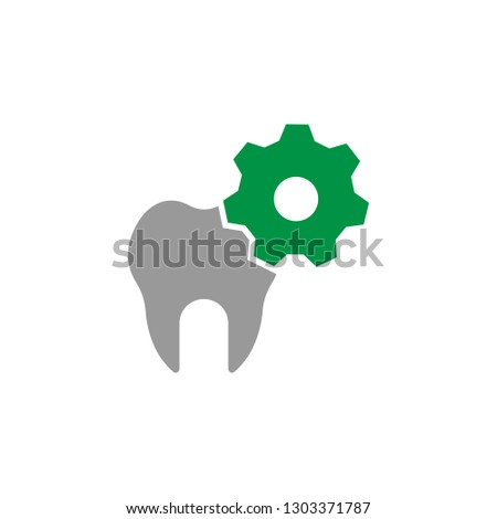 Gear and repair icon. Element of Dental Care icon for mobile concept and web apps. Detailed Gear and repair icon can be used for web and mobile