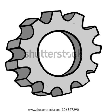 gear   cartoon vector and