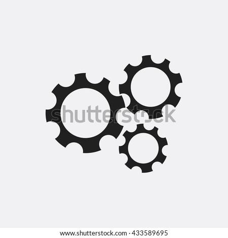 gear icon  gear icon eps10