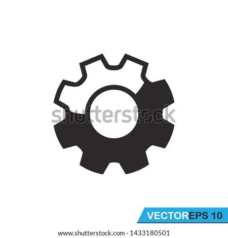 gear, setting gear icon design template