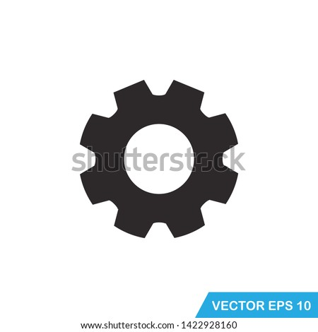 gear, setting icon vector template