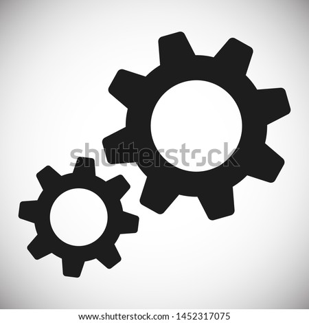 Gear vector icon. Web design icon. Gears and cogs symbol. Cog wheels icon. Cogs circle illustration. Gear wheel logo. Vector EPS 10