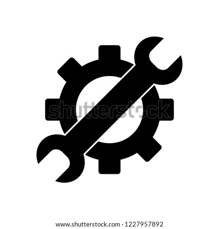Gear wrench icon