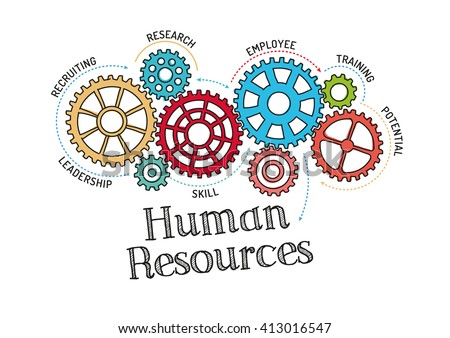 Gears and Human Resources Mechanism