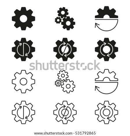 gears  cogs wheels or sprocket