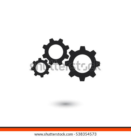 gears icon  vector illustration